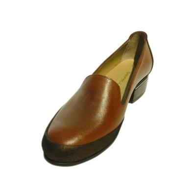 Pantofi dama din piele naturala, Lionele, Gitanos, Maro, 36 EU 2