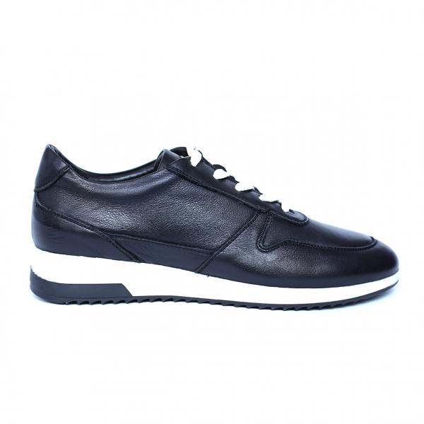 Pantofi dama din piele naturala, Naty, Peter, Negru, 38 EU 0