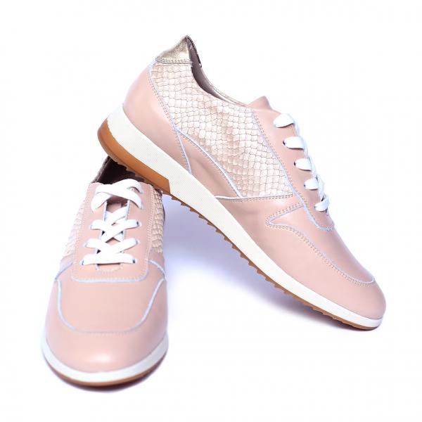 Pantofi dama din piele naturala, Naty, Peter, Roz, 35 EU [2]