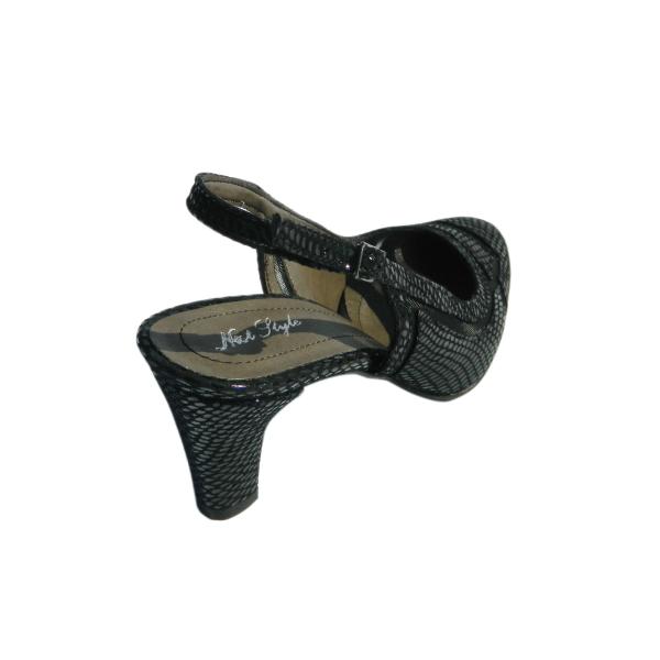 Pantofi dama din piele naturala, Jardyn, Nist, Negru, 35 EU 1