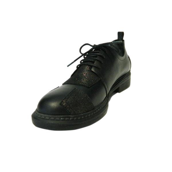 Pantofi dama din piele naturala, Oxford, Gitanos, Negru, 36 EU [0]