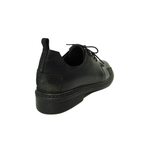 Pantofi dama din piele naturala, Oxford, Gitanos, Negru, 36 EU [1]