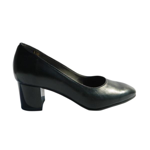 Pantofi dama din piele naturala, Kaily, Nist, Negru, 37 EU 2