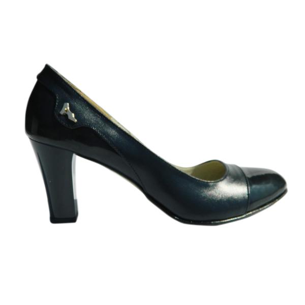 Pantofi dama din piele naturala, Carmen, Arco shoes, Albastru, 37 EU 2