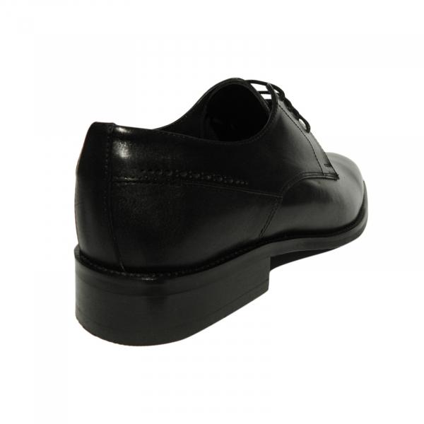 Pantofi eleganti pentru barbati Eddie, piele naturala, Gitanos, Negru, 39 EU 2