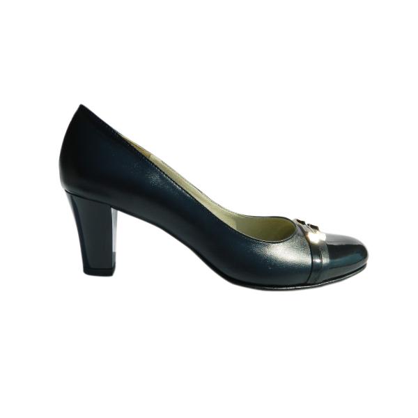 Pantofi dama din piele naturala, Iggy, Arco shoes, Albastru, 37 EU 2
