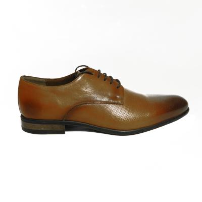 Pantofi eleganti pentru barbati Enzo, piele naturala, RIVA MANCINA, Maro, 39 EU 0