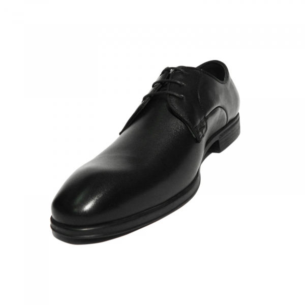 Pantofi eleganti pentru barbati Jerez, piele naturala, Dr. Jells, Negru, 40 EU 1