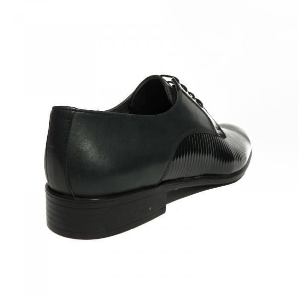 Pantofi eleganti pentru barbati Lino, piele naturala, Gitanos, Albastru, 40 EU 2