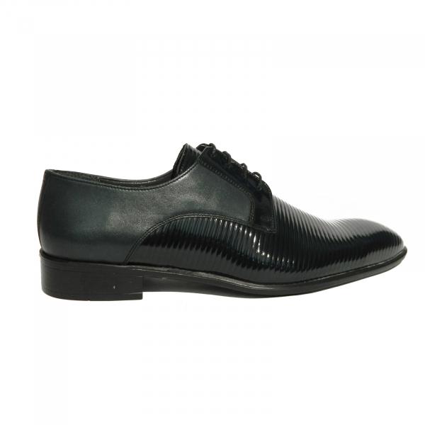 Pantofi eleganti pentru barbati Lino, piele naturala, Gitanos, Albastru, 40 EU 0
