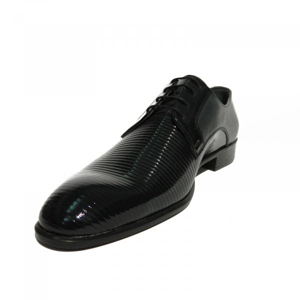 Pantofi eleganti pentru barbati Lino, piele naturala, Gitanos, Albastru, 40 EU 1