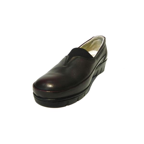 Pantofi dama cu talpa ortopedica Ipek, piele naturala, Gitanos, Bordeaux, 36 EU 0