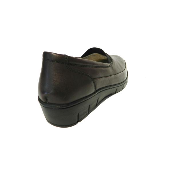 Pantofi dama cu talpa ortopedica Ipek, piele naturala, Gitanos, Bordeaux, 36 EU 1