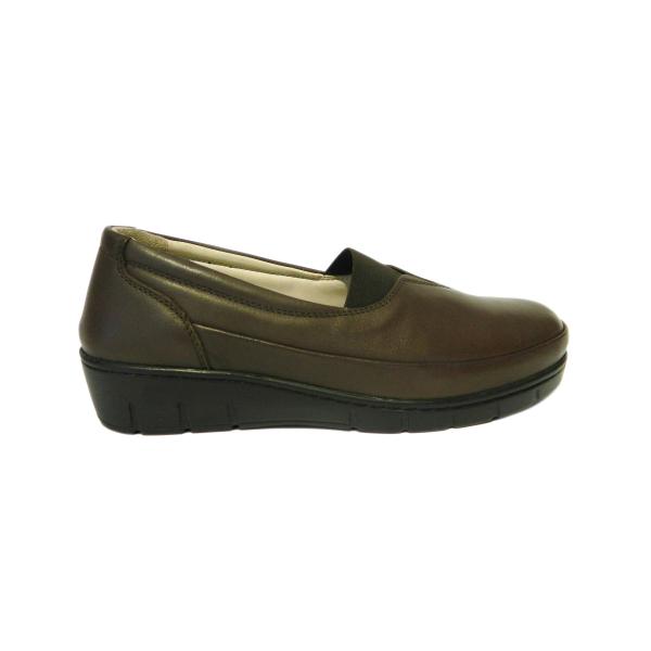 Pantofi dama cu talpa ortopedica Ipek, piele naturala, Gitanos, Maro, 36 EU [2]
