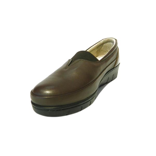Pantofi dama cu talpa ortopedica Ipek, piele naturala, Gitanos, Maro, 36 EU [0]