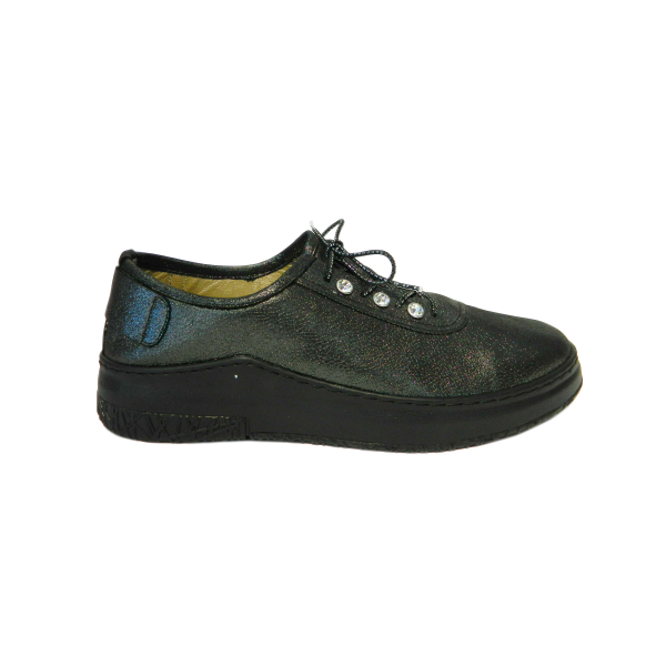 Pantofi dama din piele naturala, Detta, Gitanos, Negru, 36 EU 2