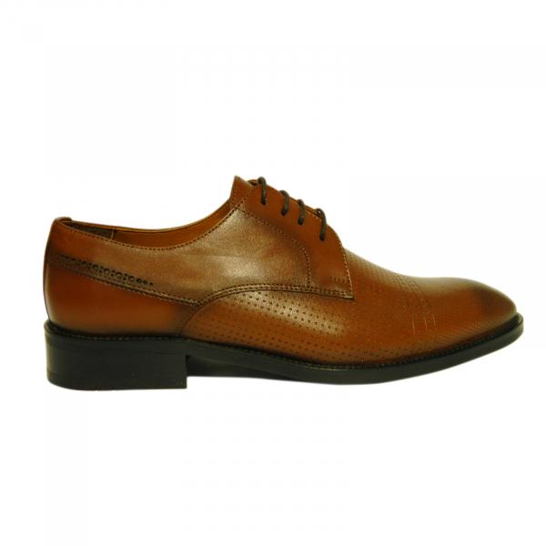 Pantofi eleganti pentru barbati Virgilio, piele naturala, Gitanos, Maro, 39 EU 0
