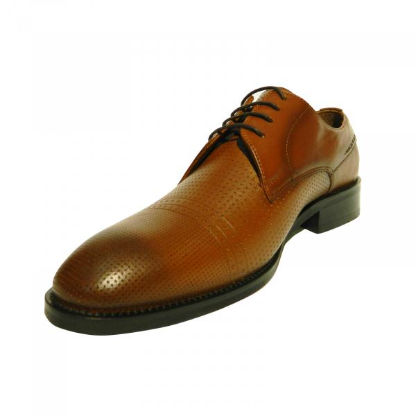 Pantofi eleganti pentru barbati Virgilio, piele naturala, Gitanos, Maro, 39 EU 1