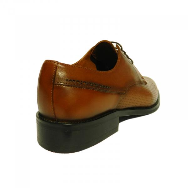 Pantofi eleganti pentru barbati Virgilio, piele naturala, Gitanos, Maro, 39 EU 2