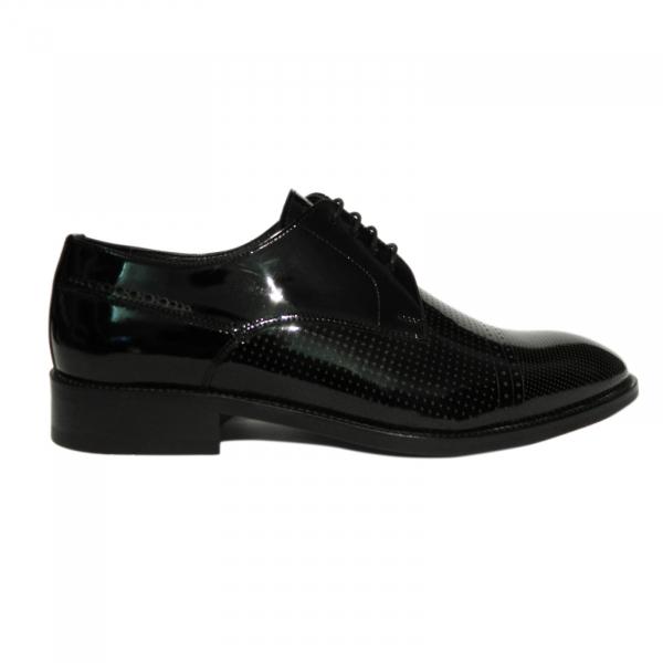 Pantofi eleganti pentru barbati Virgilio, piele naturala, Gitanos, Negru, 39 EU [0]