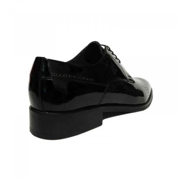 Pantofi eleganti pentru barbati Virgilio, piele naturala, Gitanos, Negru, 39 EU [2]
