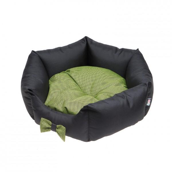 Patut Comfy Lola, Negru/Verde, 50 x 50 x 20 cm [0]