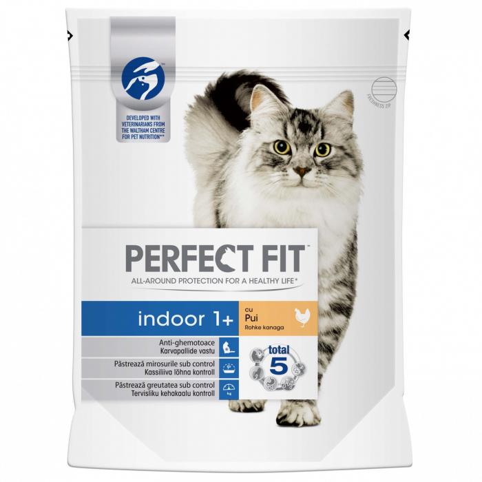 Perfect Fit Cat Indoor cu Pui, 190 g 0