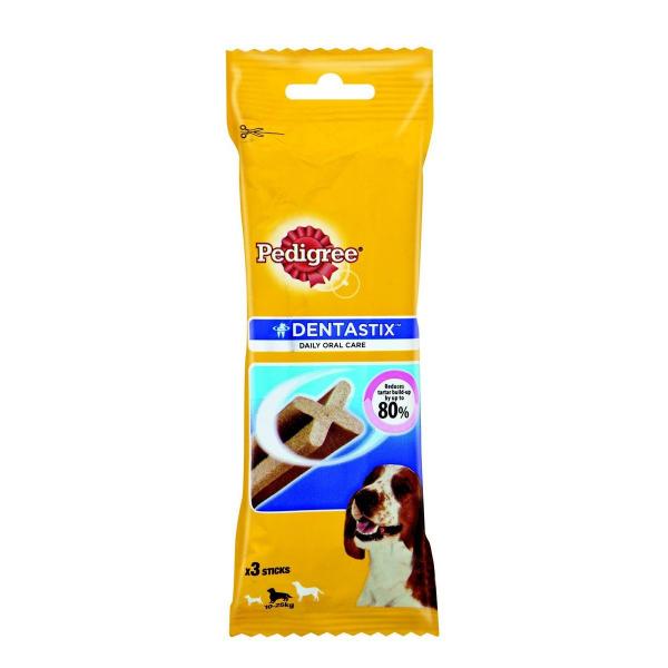 Recompensa Pedigree Dentastix medium 77 g pentru caini 0