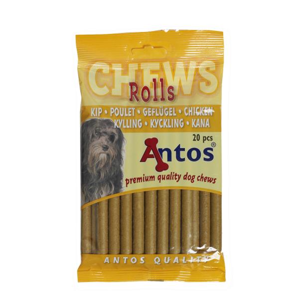 Recompense pentru caini Antos, Baton, Pui, 20 buc, 200 g 0