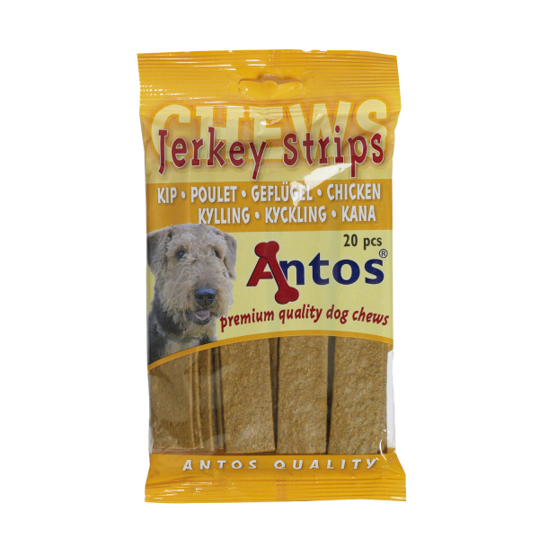 Recompense pentru caini Antos, Fasii, Pui, 20 buc, 200 g [0]