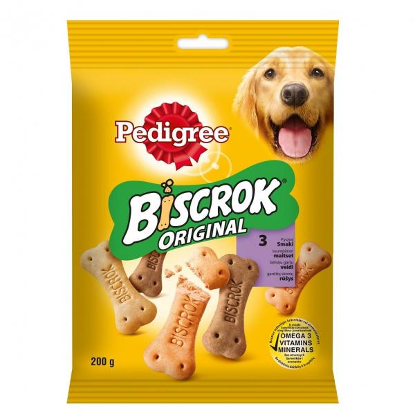 Recompense pentru caini Pedigree Biscrok, 200 g 0