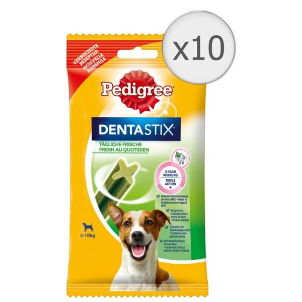 Recompense pentru caini Pedigree DentaStix Fresh, 10 x 270g [0]