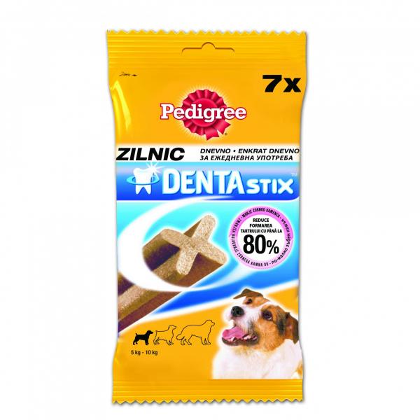 Recompense pentru caini Pedigree Dentastix Mono ,Talie Mica, 7 buc, 110 g [0]