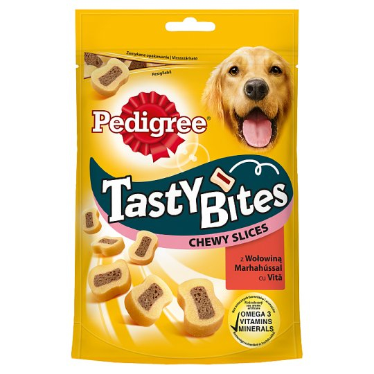 Recompense pentru caini Pedigree Tasty Bites Cheesy, 140g [0]