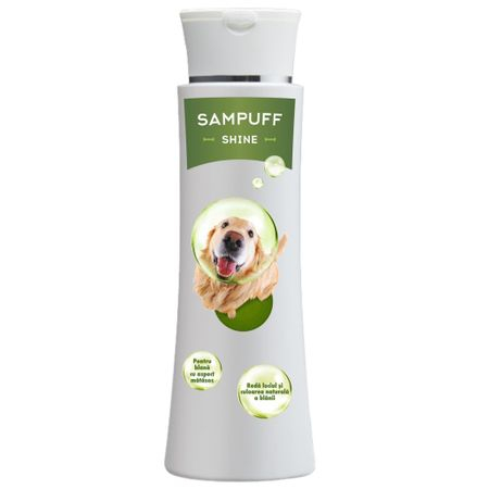 Sampon blana lucioasa pentru caini si pisici, Sampuff Shine, Pasteur, 250 ml 0