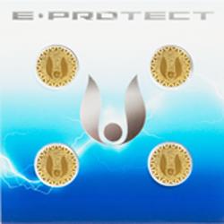 Set dispozitive de protectie impotriva radiatiilor,  Sticker E-Protect, Calivita, 4 buc [0]