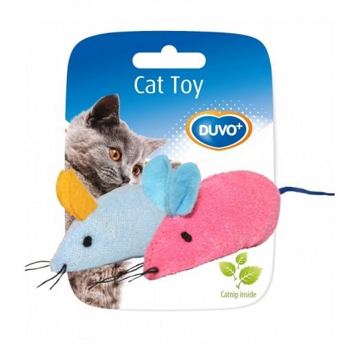 Soricel de jucarie pentru pisici din material textil, Duvo+ 0