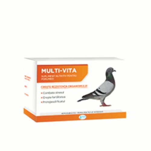 Supliment nutritiv pentru porumbei Multi-Vita, Pasteur,  5 g 0