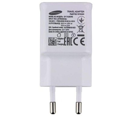 Incarcator priza Samsung, EP-TA20EWE, Fast charging, Alb [1]