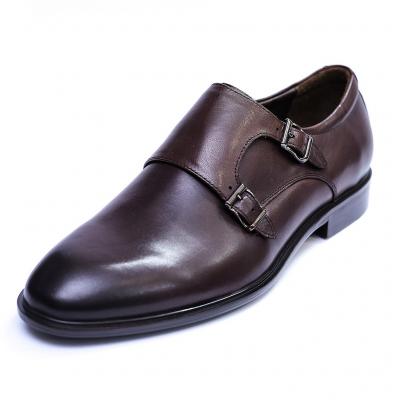 Pantofi barbati din piele naturala, Vito, SACCIO, Maro, 39 EU0