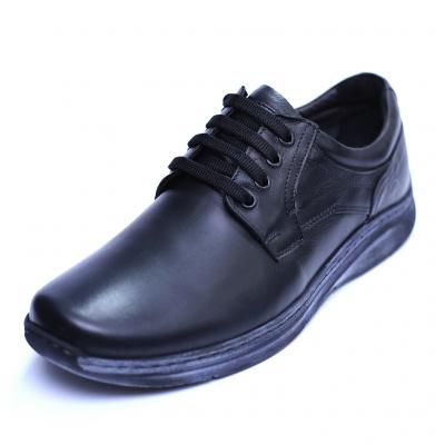 Pantofi barbati din piele naturala, Demy, Gitanos, Negru, 39 EU [0]