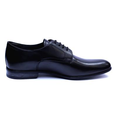 Pantofi barbati din piele naturala, Russel, ANNA CORI, Negru, 39 EU3