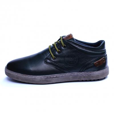 Pantofi barbati din piele naturala, Jim, Gitanos, Verde, 39 EU3