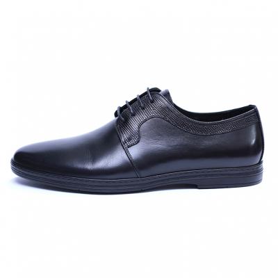 Pantofi barbati din piele naturala, Tom, SACCIO, Negru, 39 EU2