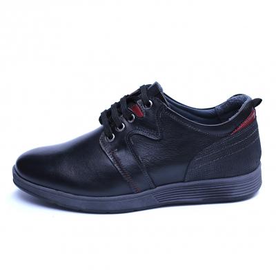 Pantofi barbati din piele naturala, Martin, Gitanos, Negru, 39 EU2