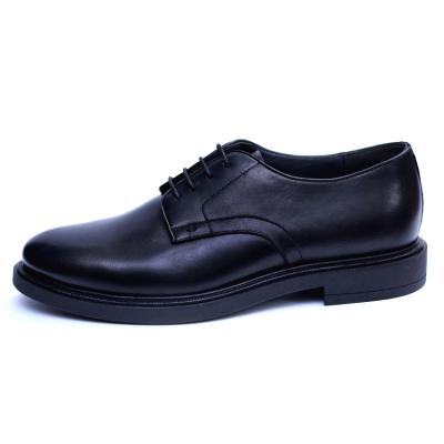 Pantofi barbati din piele naturala, Sam, RIVA MANCINA, Negru, 40 EU [0]