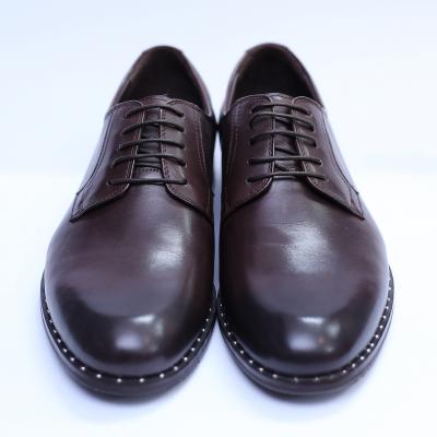 Pantofi barbati din piele naturala, Van, SACCIO, Maro, 39 EU2