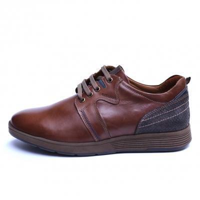 Pantofi barbati din piele naturala, Martin, Gitanos, Maro, 39 EU [3]