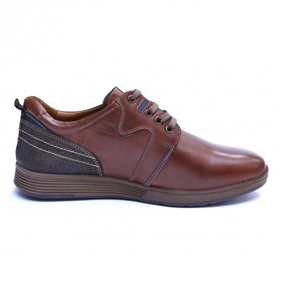 Pantofi barbati din piele naturala, Martin, Gitanos, Maro, 39 EU [4]