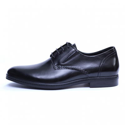 Pantofi barbati din piele naturala, Knight, SACCIO, Negru, 39 EU [2]